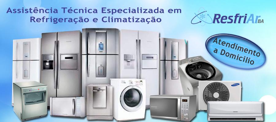 Assistencia Tecnica Especializada              em Instalação e manutenção em Climatização e Refrigeração em Salvador